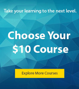 Take an online course for $10!